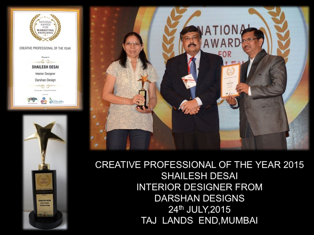 CREATIVE PROFESSIONAL OF THE YEAR 2015
