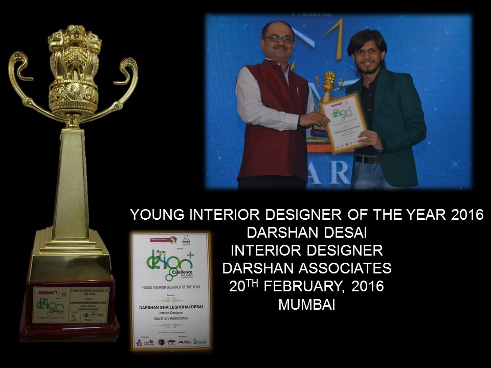 YOUNG INTERIOR DESIGNER OF THE YEAR 2016